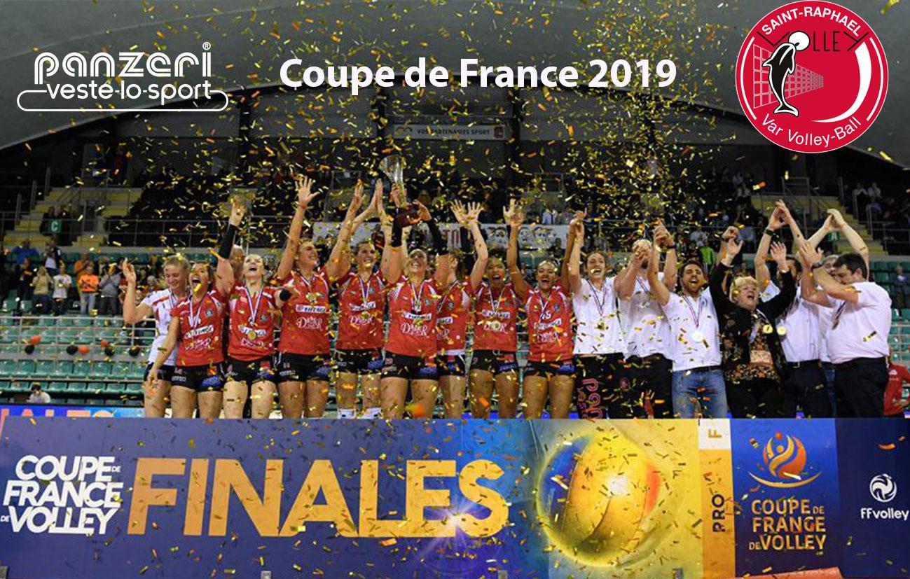 5da9cdd75ef4 SAINT RAPHAëL VOLLEY WOMAN WON THE FRENCH CUP